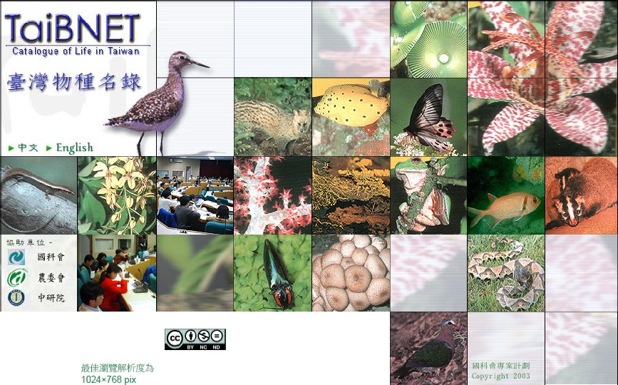 台灣生物多樣性資訊網及魚類資料庫PDF檔